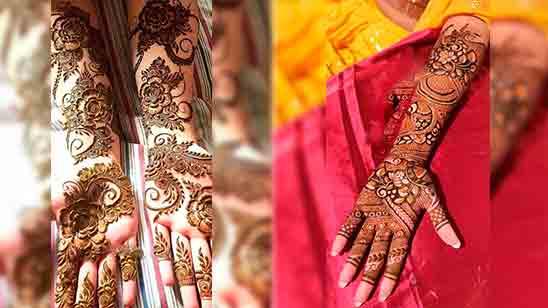 Latest Mehndi Design Full Hand