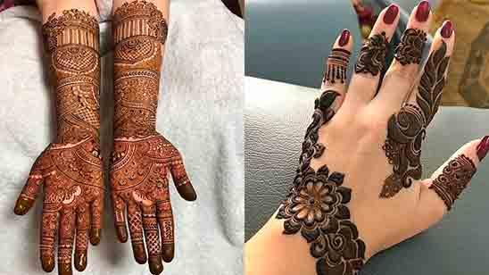 Latest Mehndi Design Simple