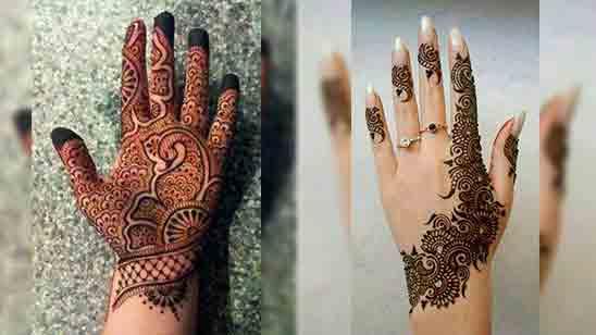 Latest Simple Mehndi Design