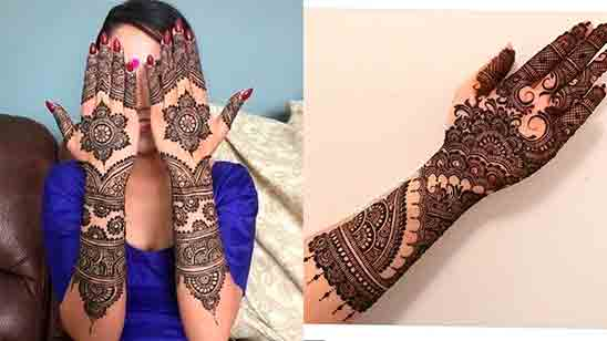 Mehndi Design Easy Full Hand