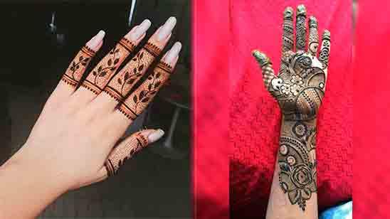 Mehndi Design New Finger