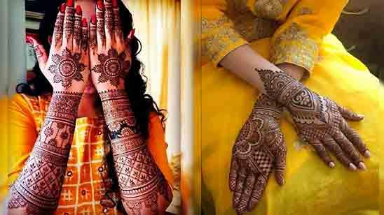 Mehndi Designs Simple Full Hand
