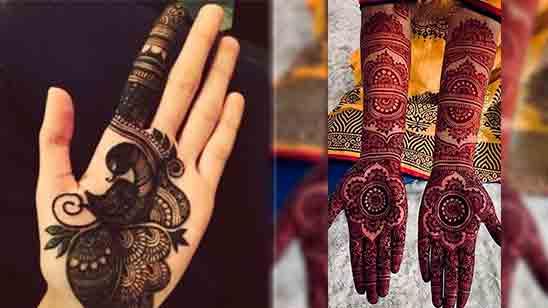 New Arabic Mehndi Design Latest