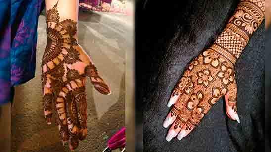 New Arabic Mehndi Design Photo