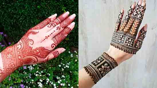 New Arabic Mehndi Designs for Back Hand