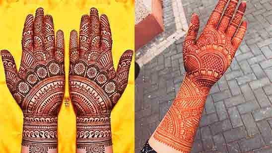 New Arabic Mehndi Designs for Hands