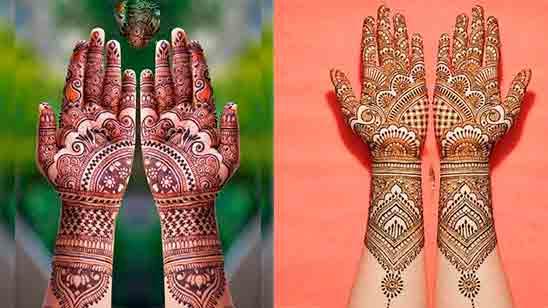 New Beautiful Arabic Mehndi Design