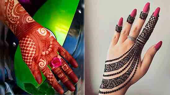 New Finger Mehndi Design 2020 Picture