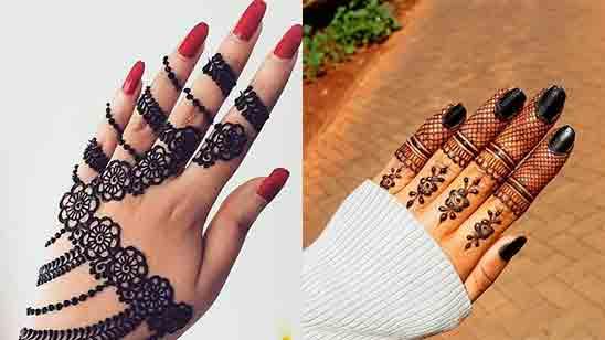 New Finger Mehndi Design 2020