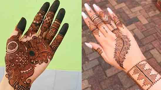 New Finger Mehndi Design Simple