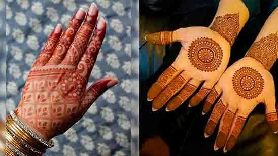 New Khafif Finger Mehndi Design
