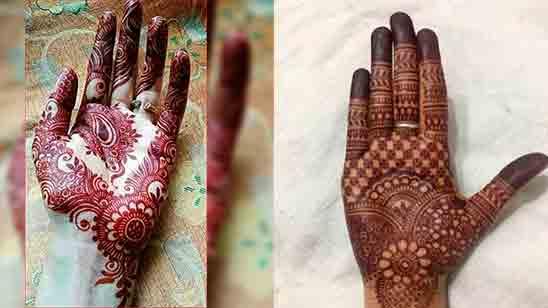 New Mehndi Designs for Fingers