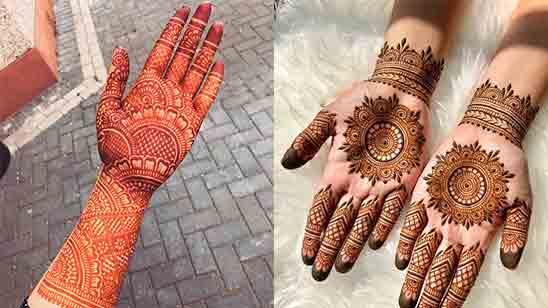 New Mehndi Finger Designs