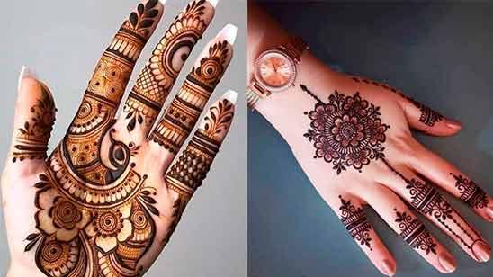 New Simple Mehndi Design