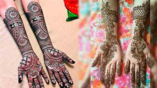 Simple Full Hand Mehndi Design 2020