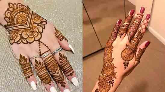 Simple Mehndi Design New