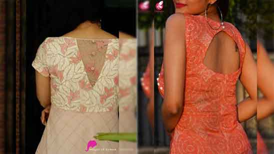 Back Neck Designs for Kurtis With Collar