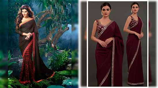 Blouse Design For Silk Saree With Big Border