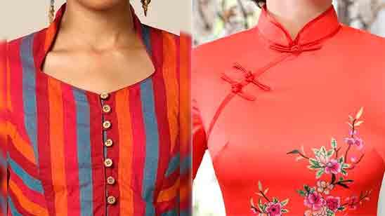 High Neck Kurti Design Images
