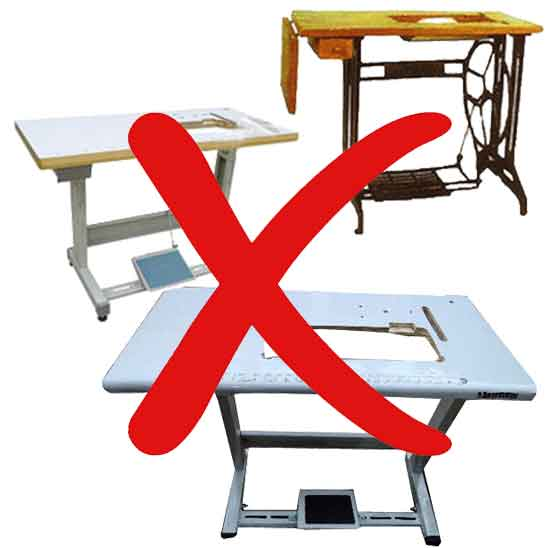 Bad Sewing Machine Table do not Buy