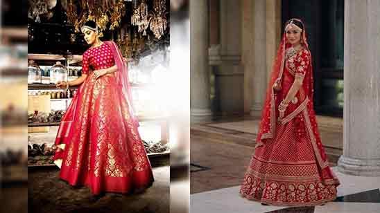 Bridal Blouse Designs For Lehenga