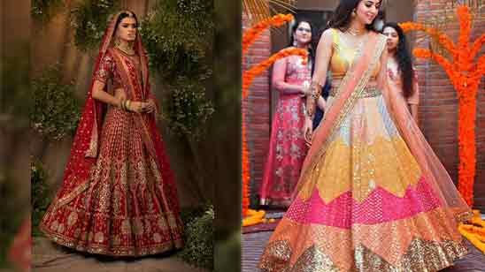 Bridal Lehenga Blouse Design