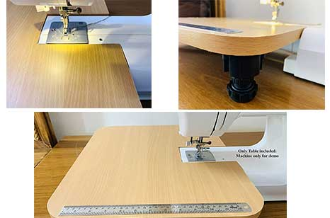 DesignMe Heavy wood Sewing machine Extension Table