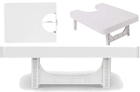 FSFTTRAD Portable Extension Table for Sewing Machine