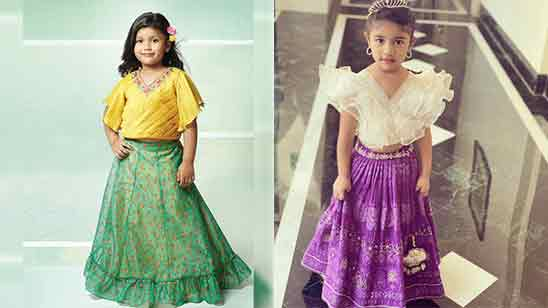 Girl Lehenga Blouse Design