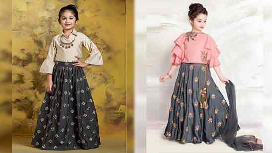 Girl Lehenga Blouse Designs