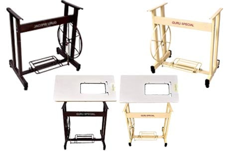 Guru Special Sewing Machine Stand & Table with Belt