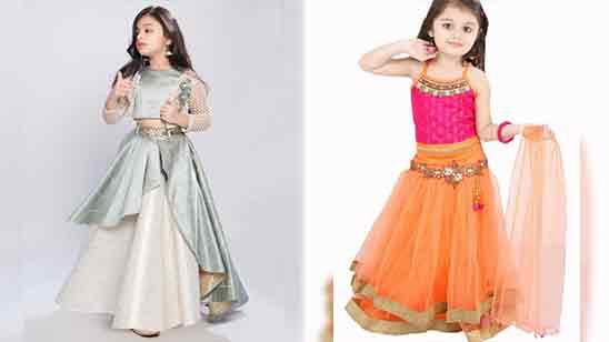 Kids Lehenga Blouse Design