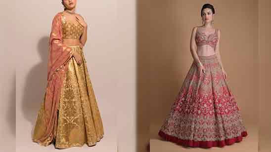 Lehenga Blouse Design For Bridal