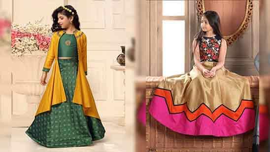 Lehenga Blouse Design For Girl