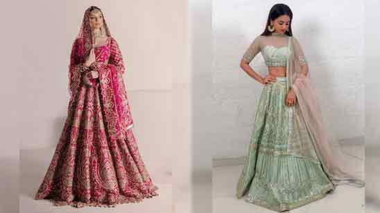 Modern Trendy Lehenga Blouse Back Designs