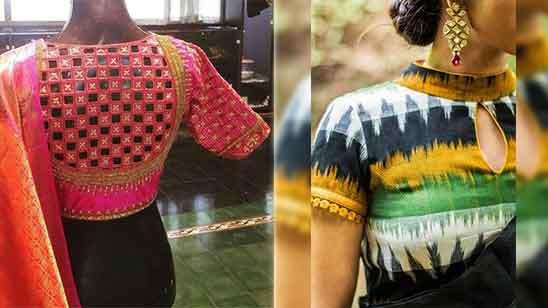 Silk Saree Blouse Latest Designs