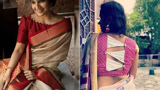 Simple Silk Saree Blouse Designs Catalogue