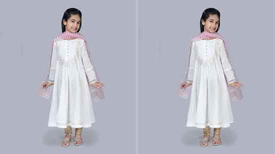 Baby Girl Baby Salwar Suit Design
