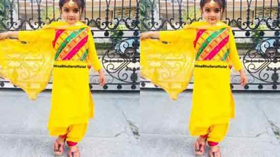 Baby Salwar Suit Design