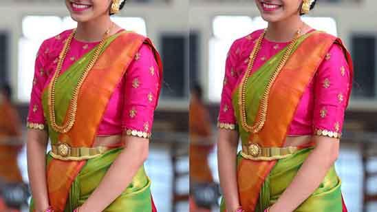 Blouse Design in Full Sleeves