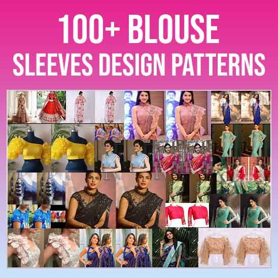 Blouse Sleeves Design Patterns