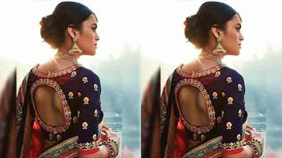 Bridal Blouse Simple Design