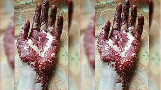 Bridal Mehndi Designs Simple