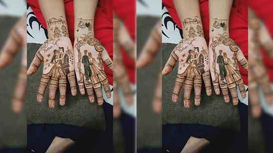 Bridal Mehndi Designs for Full Hand