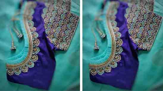 Bride Wedding Blouse Designs