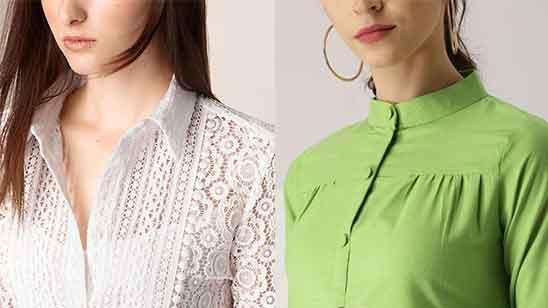 Churidar Collar Neck Design