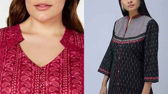 Churidar Collar Neck Designs Images