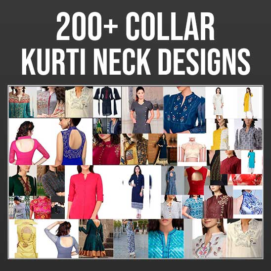 Collar Neck Designs for Kurtis