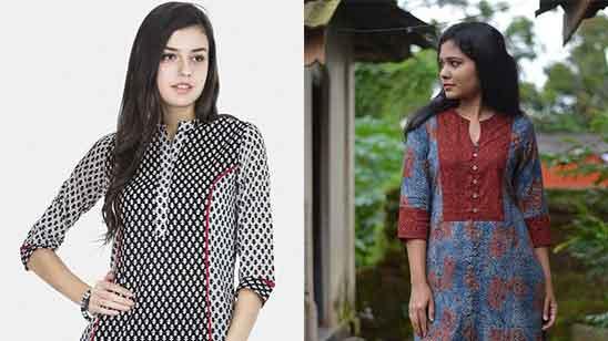 Cotton Churidar Neck Designs for Stitching