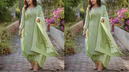Cotton Plazo Suit Design Latest Images